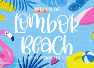 Lombok Beach Font