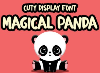Magical Panda Font