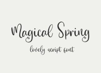 Magical Spring Font