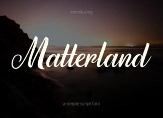 Matterland Font