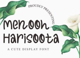 Menooh Harisoota Font