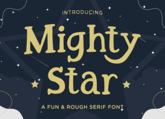 Mighty Star Font