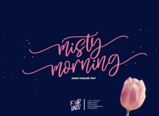 Misty Morning Font