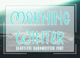 Morning Winter Font