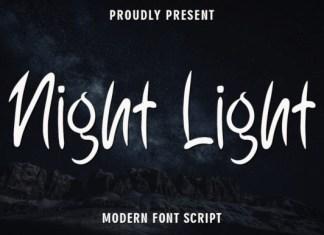 Night Light Font