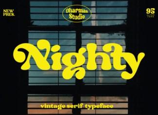 Nighty Font