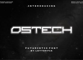 Ostech Font