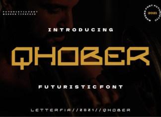 Qhober Font