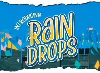 Rain Drops Font