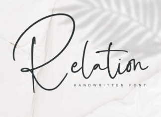 Relation Font