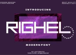 Righel Font