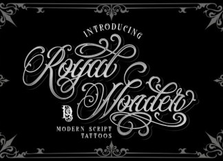 Royal Wonder Font