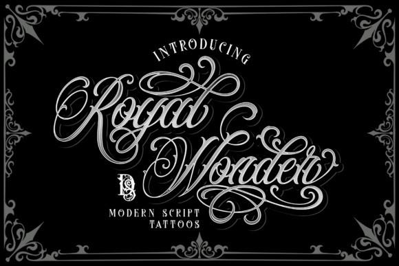 Royal Wonder Font