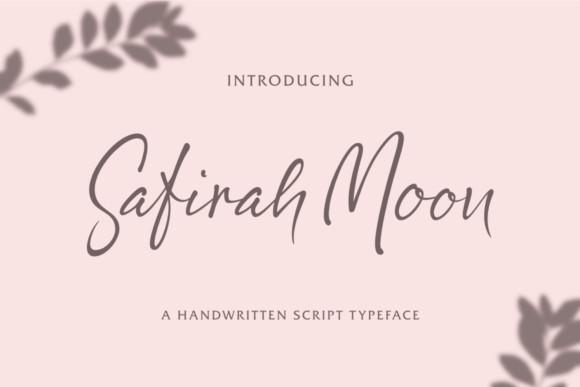 Safirah Moon Font