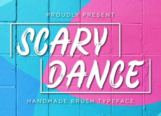 Scary Dance Font