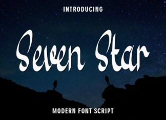Seven Star Font