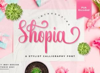 Shopia Font