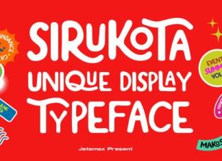 Sirukota Font
