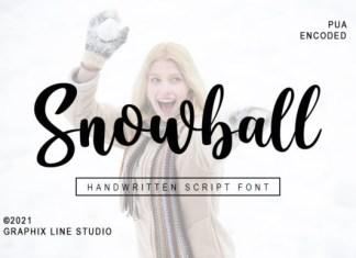Snowball Font