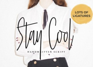 Stay Cool Font