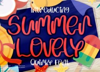Summer Lovely Font