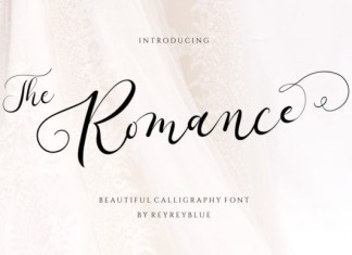 The Romance Font