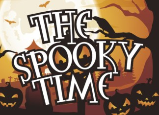 The Spooky Time Font