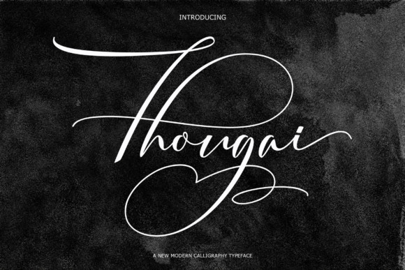 Thougai Font