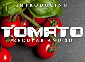 Tomato Font