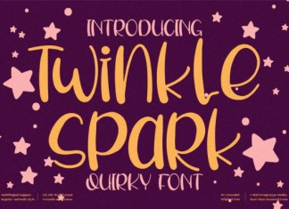 Twinkle Spark Font
