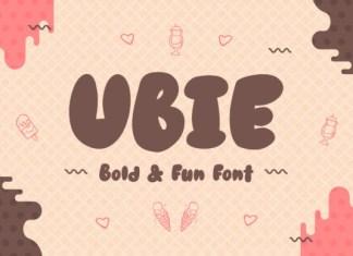 Ubie Font