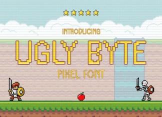 Ugly Bite Font