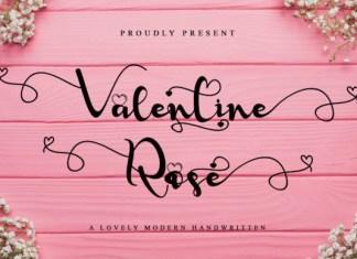 Valentine Rose Font