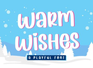 Warm Wishes Font