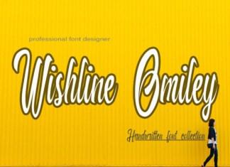 Wishline Omiley Font