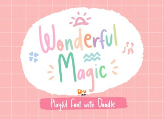 Wonderful Magic Font