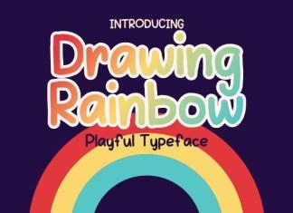 Drawing Rainbow Font