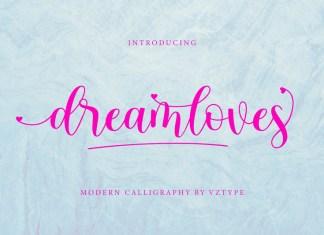 Dreamloves Font