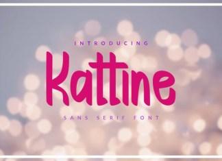 Kattine Font