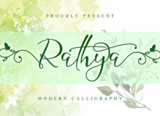 Rathya Font