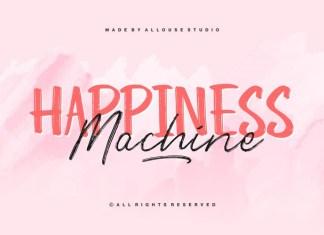 Happiness Machine Font