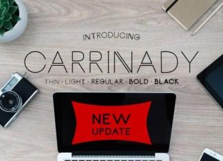 Carrinady Font