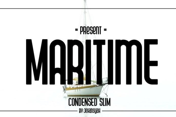 Maritime Font