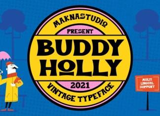 Buddy Holly Font