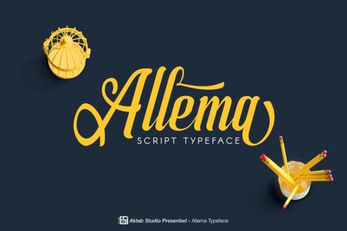 Allema Font