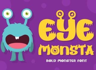 Eye Monsta Font