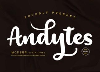 Andytes Font