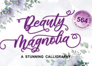 Beauty Magnolia Font