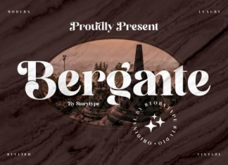 Bergante Font