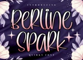 Berline Spark Font